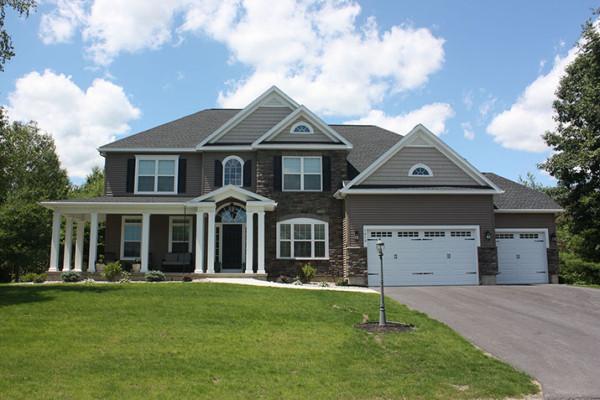 Home Exterior by Bordeau Builders