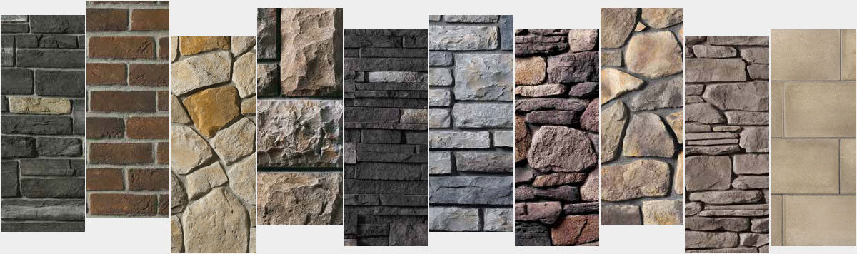 Cultured Stone Styles & Colors